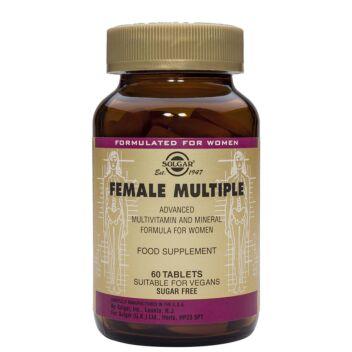SOLGAR FEMALE MULTIPLE MONIVITAMIINITABL 60 KPL