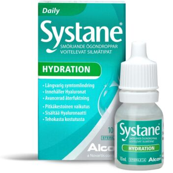 SYSTANE HYDRATION SILMÄTIPAT 10 ML