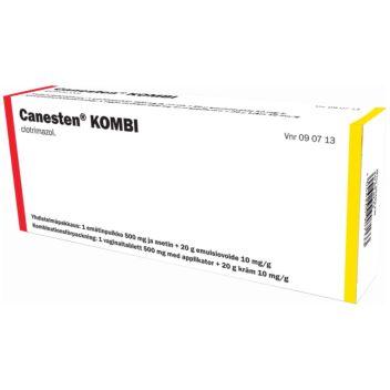 CANESTEN KOMBI 500 MG + 10 MG/G 1 + 20 g