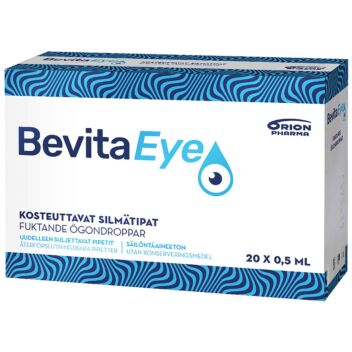 BEVITA EYE SILMÄTIPAT 20X0,5 ML