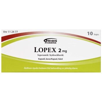 LOPEX 2 MG KOVA KAPSELI 10 fol