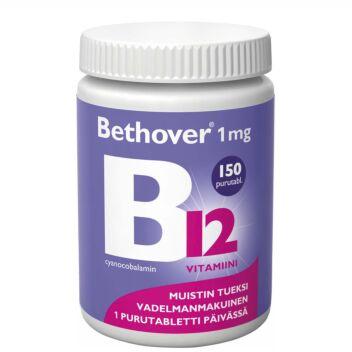 BETHOVER 1 MG B12-VITAMIINI TABL 150 KPL