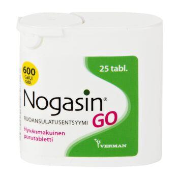 NOGASIN GO PURUTABL 25 KPL