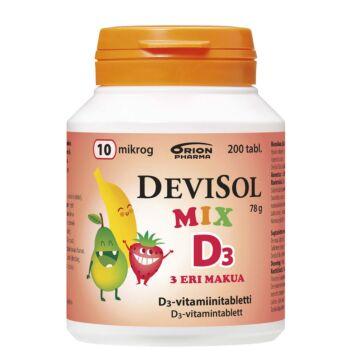 DEVISOL MIX D3 10 MIKROG PURUTABL 200 KPL