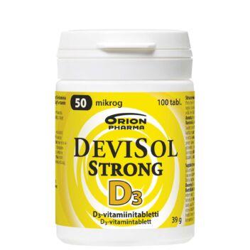 DEVISOL STRONG 50 MIKROG TABLETTI 100 KPL