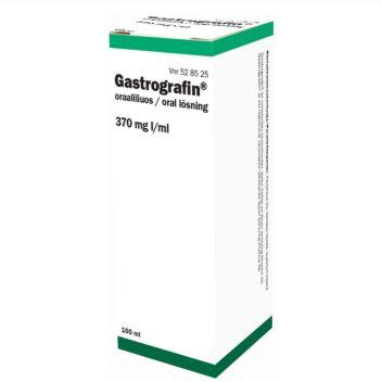 GASTROGRAFIN 100/660 MG/ML SUUN KAUTTA OTETTAVA LIUOS 100 ml