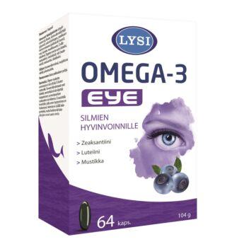 LYSI OMEGA-3 EYE KAPS 64 KPL