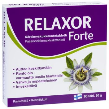 RELAXOR FORTE TABL 60 KPL