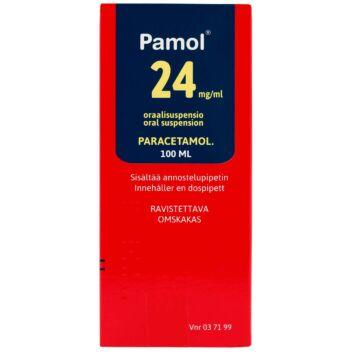 PAMOL 24 MG/ML SUUN KAUTTA OTETTAVA LIUOS 100 ml