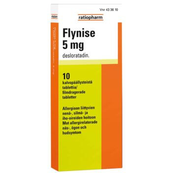 FLYNISE TABLETTI 5MG