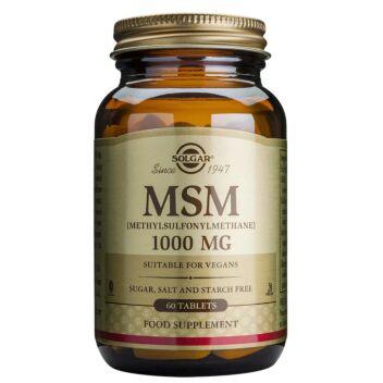 SOLGAR MSM 1000 MG TABL 60 KPL