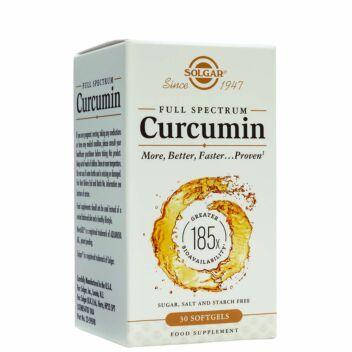 SOLGAR FULL SPECTRUM CURCUMIN SOFTGELS 30 KPL