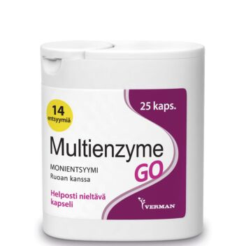 MULTIENZYME GO KAPS 25 KPL