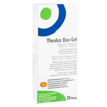THEALOZ DUO GEL 30 KPL