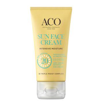 ACO SUN FACE CREAM SPF20 50 ML