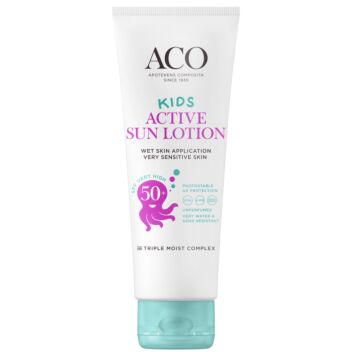 ACO SUN KIDS ACTIVE SUN LOTION SPF50+ BIG SIZE 250 ML