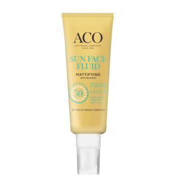 ACO SUN FACE FLUID MATTIFYING SPF50+ 40 ML