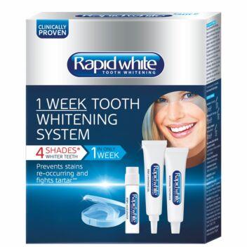 RAPID WHITE 1 WEEK TOOTH WHITENING SYSTEM 1 KPL