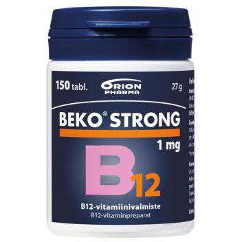 BEKO STRONG B12 1 MG TABL 150 KPL