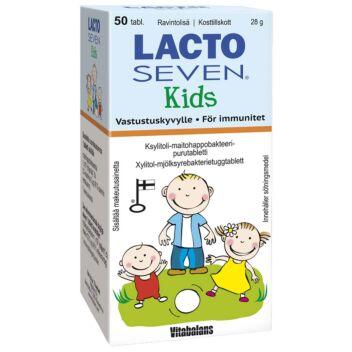 LACTOSEVEN KIDS TABL 50 KPL