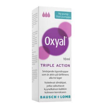 OXYAL TRIPLE ACTION SILMÄTIPPA 10 ML