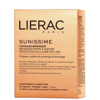 LIERAC SUNISSIME SUN CARE TAN-PREPARING CAPSULES 30 KPL