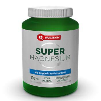 BIOTEEKIN SUPER MAGNESIUM TABL 100 KPL