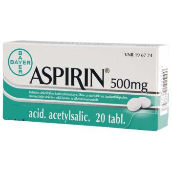 ASPIRIN TABLETTI 500MG