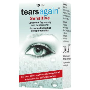 TEARSAGAIN SENSITIVE SILMÄSUIHKE 10 ML