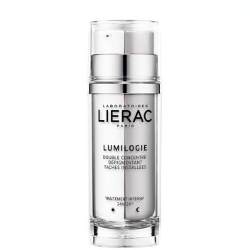 LIERAC LUMILOGIE DAY&NIGHT DARK SPOT CORRECTION DOUBLE CONCENTRATE 15 ML+15 ML