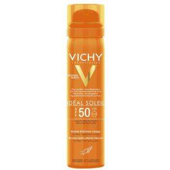 VICHY IDEAL SOLEIL FRESH FACE MIST SPF50 75 ML