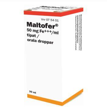 MALTOFER 50 MG/ML TIPAT 30 ml