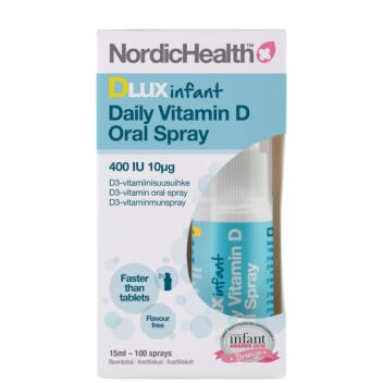 NORDIC HEALTH DLUX INFANT D3-SUUSUIHKE 10 MIKROG 15 ML