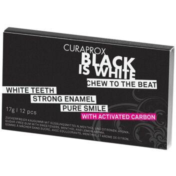 CURAPROX BLACK IS WHITE AKTIIVIHIILIPURUKUMI 12 KPL