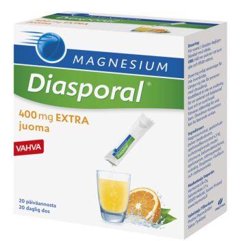DIASPORAL MAGNESIUM 400 EXTRA ANNOSPUSSI 20X6,3 G