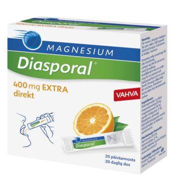 DIASPORAL MAGNESIUM 400 EXTRA DIREKT ANNOSPUSSI 20X2,2 G