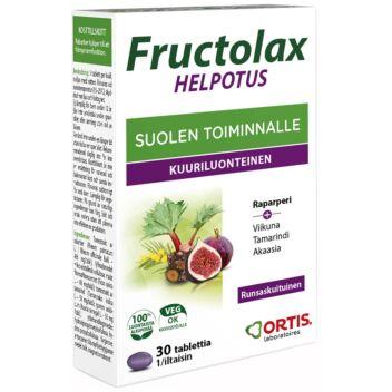 FRUCTOLAX HELPOTUS TABL 30 KPL