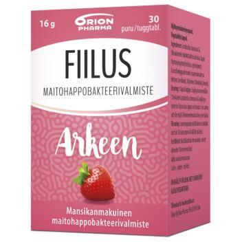 FIILUS ARKEEN MANSIKKA PURUTABL 30 KPL