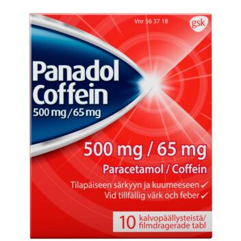 PANADOL COFFEIN TABLETTI 500MG/65MG