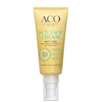 ACO SUN FACE CREAM ANTI-AGE SPF30 40 ML