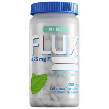 FLUX MINT FLUORITABLETTI IMESKELYTABL 300 KPL