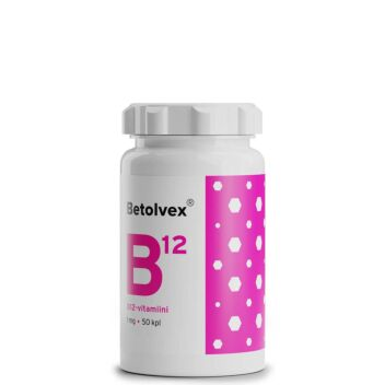 BETOLVEX B12-VITAMIINI 1MG TABL 50 KPL