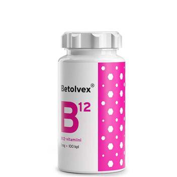 BETOLVEX B12-VITAMIINI 1MG TABL 100 KPL