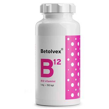BETOLVEX B12-VITAMIINI 1MG TABL 150 KPL