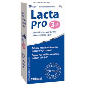 LACTA PRO 3IN1 KAPS 30 KPL