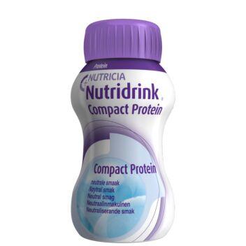 NUTRIDRINK COMPACT PROTEIN NEUTRAALINMAKUINEN 4X125 ML