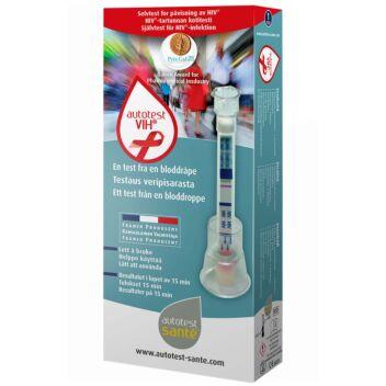 AUTOTEST VIH-HIV-KOTITESTI 1 KPL