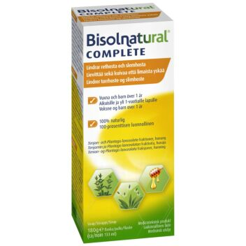 BISOLNATURAL COMPLETE SIIRAPPI 133 ML