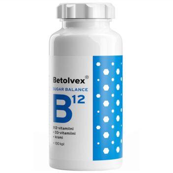 BETOLVEX SUGAR BALANCE B12-VITAMIINI 1 MG TABL 100 KPL