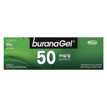BURANAGEL GEELI 50 MG/G